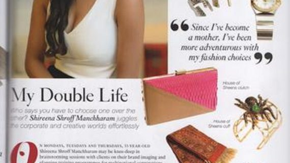 House of Sheens founder Shireena featured on SINGAPORE TATLER