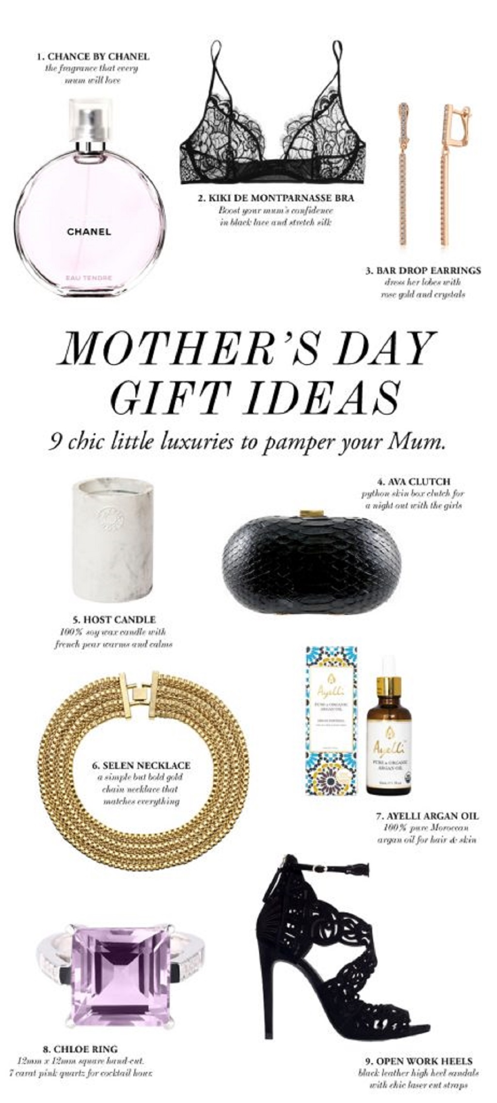 9 Chic Mother's Day Gift Ideas From Daughter
