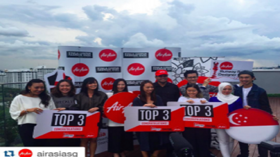 Penn – House of Sheens Marketing Intern Wins Air Asia's Runway Ready Designer Search 2016