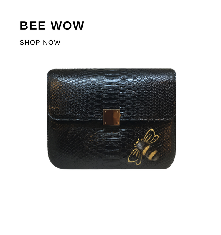 Bee WoW Collection House of Sheens Python Leather