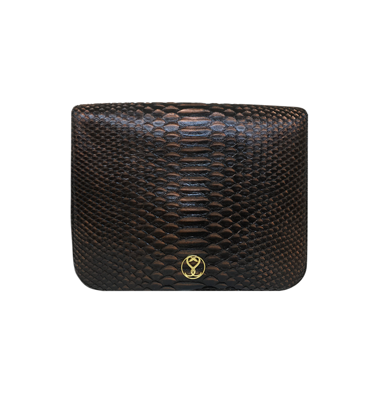 Bee WoW Large Copper-2 House of Sheens Python Leather
