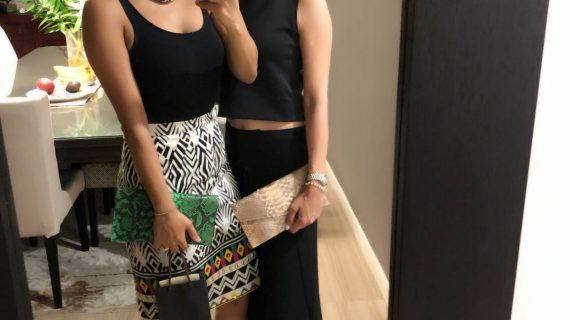 Sisters' styling: Shop the look with the Shroff sisters